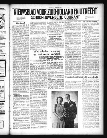 Schoonhovensche Courant 1948-09-22