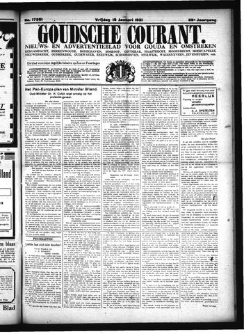 Goudsche Courant 1931-01-16