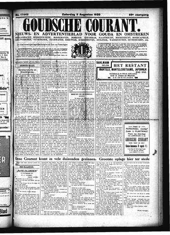 Goudsche Courant 1930-08-02