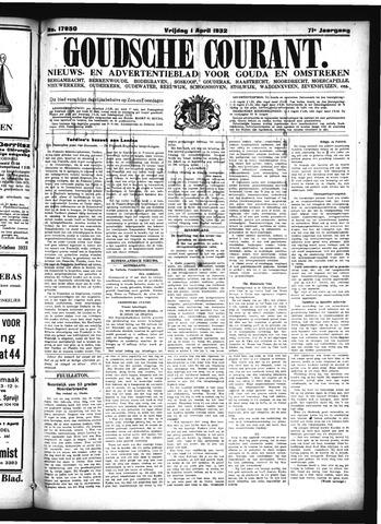 Goudsche Courant 1932-04-01