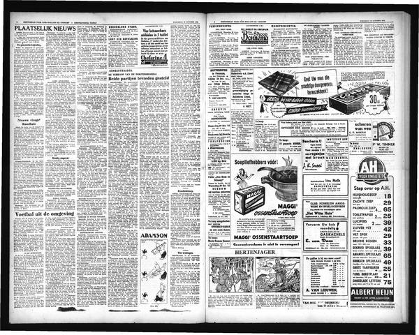 Schoonhovensche Courant 1952-10-22