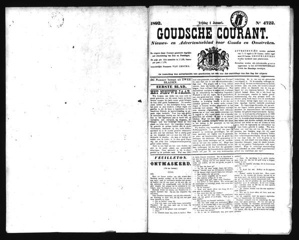 Goudsche Courant 1892-01-01