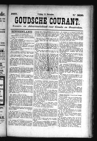 Goudsche Courant 1887-11-25