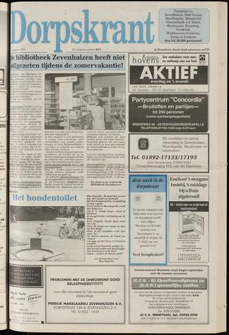 Dorpskrant 1991-08-21