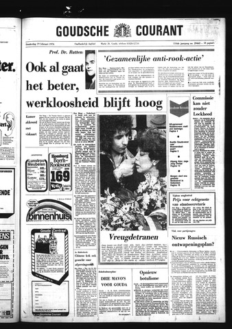 Goudsche Courant 1976-02-19