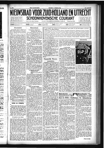 Schoonhovensche Courant 1933-08-07