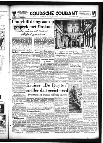 Goudsche Courant 1953-05-12