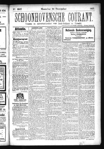 Schoonhovensche Courant 1917-12-24