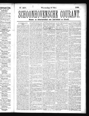 Schoonhovensche Courant 1896-05-13