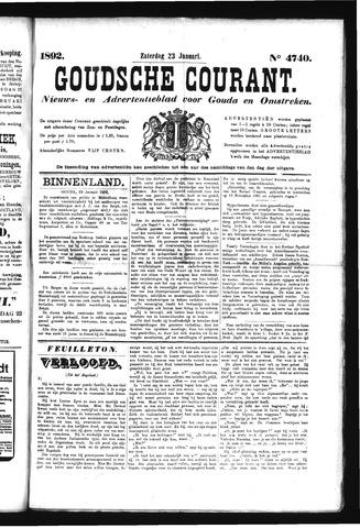 Goudsche Courant 1892-01-23