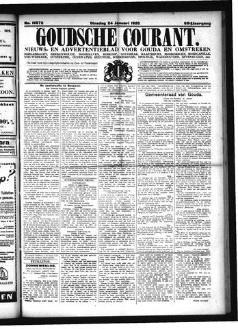 Goudsche Courant 1928-01-24