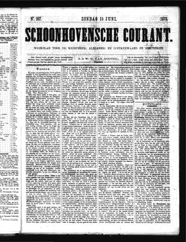 Schoonhovensche Courant 1873-06-15