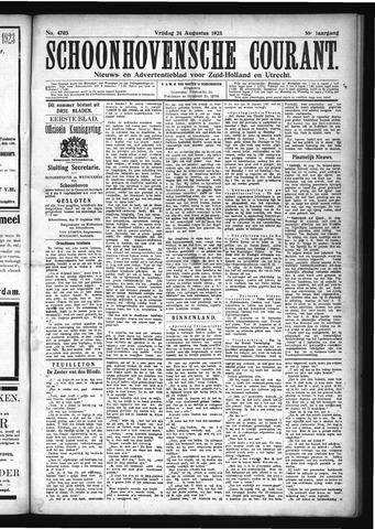 Schoonhovensche Courant 1923-08-24