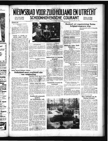 Schoonhovensche Courant 1950-05-08