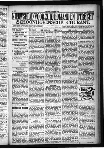 Schoonhovensche Courant 1928-10-31