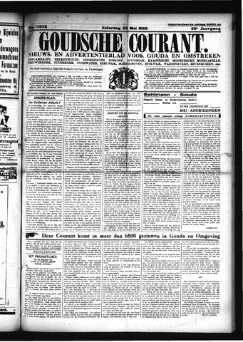 Goudsche Courant 1929-05-25