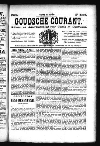 Goudsche Courant 1890-10-10