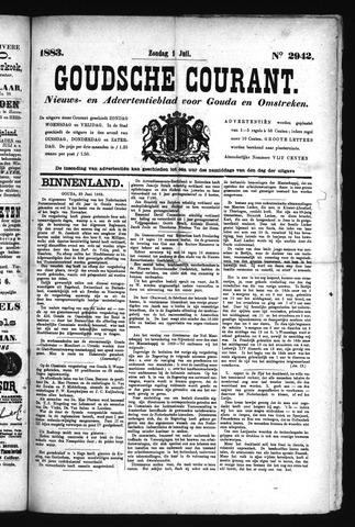 Goudsche Courant 1883-07-01