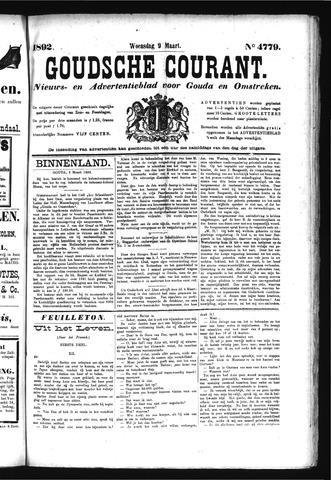 Goudsche Courant 1892-03-09