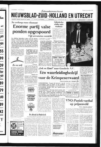 Schoonhovensche Courant 1971-11-26