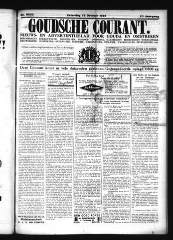 Goudsche Courant 1932-10-22