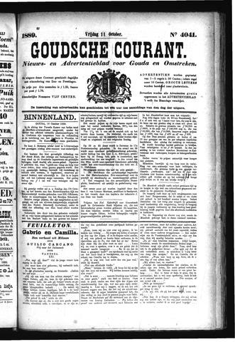 Goudsche Courant 1889-10-11