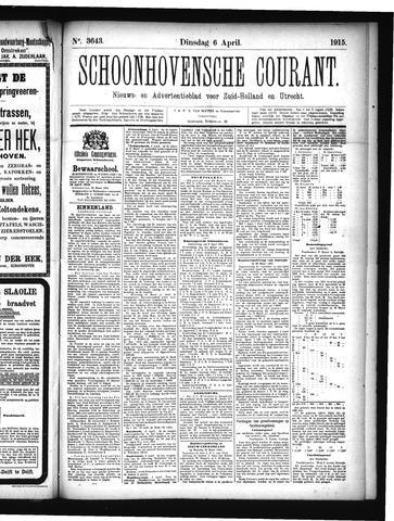 Schoonhovensche Courant 1915-04-06