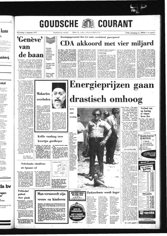 Goudsche Courant 1977-08-03