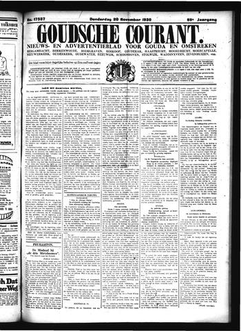 Goudsche Courant 1930-11-20