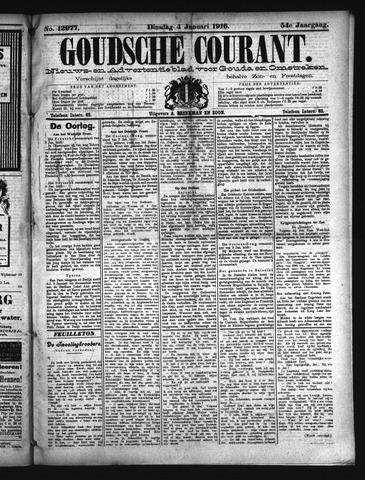 Goudsche Courant 1916-01-04
