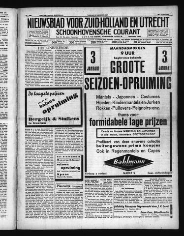 Schoonhovensche Courant 1937-12-31