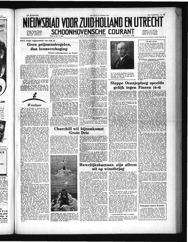 Schoonhovensche Courant 1951-10-29