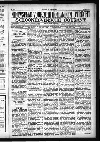 Schoonhovensche Courant 1928-08-29