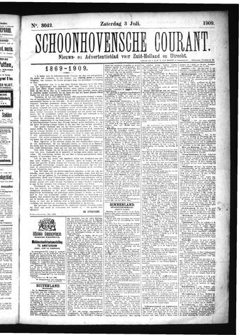 Schoonhovensche Courant 1909-07-03