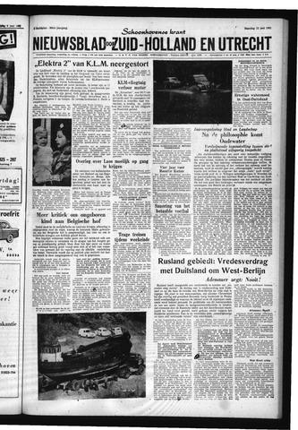 Schoonhovensche Courant 1961-06-12