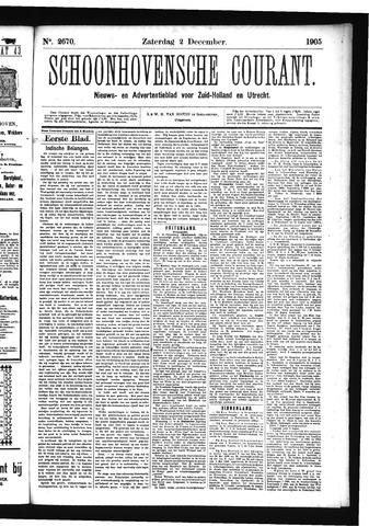 Schoonhovensche Courant 1905-12-02