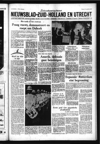 Schoonhovensche Courant 1969-08-22