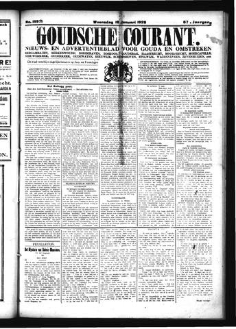 Goudsche Courant 1929-01-16