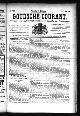 Goudsche Courant 1889-02-13