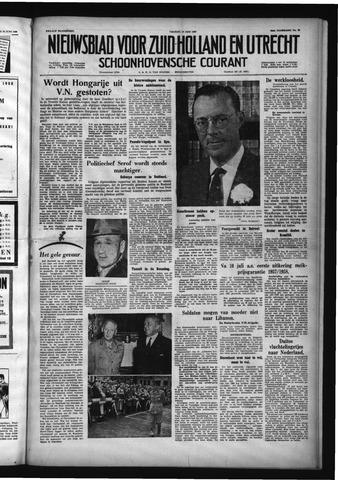 Schoonhovensche Courant 1958-06-27
