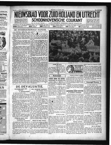 Schoonhovensche Courant 1936-10-12