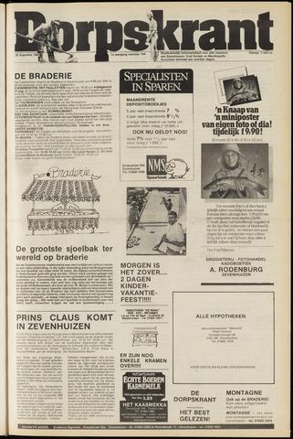 Dorpskrant 1984-08-22