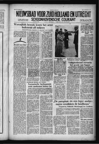Schoonhovensche Courant 1957-05-22