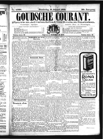 Goudsche Courant 1912-01-18
