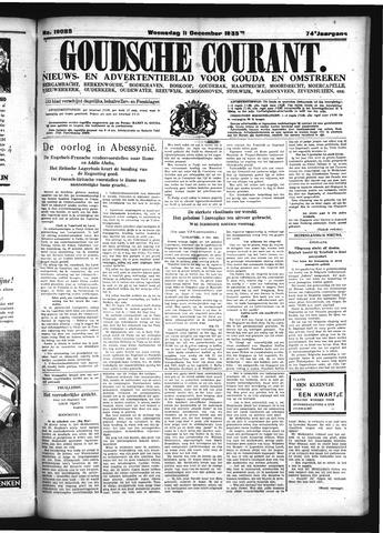 Goudsche Courant 1935-12-11