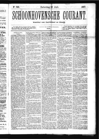 Schoonhovensche Courant 1887-07-30