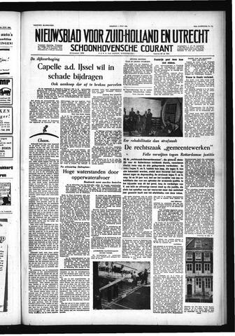Schoonhovensche Courant 1955-07-01