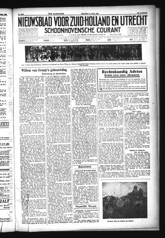 Schoonhovensche Courant 1933-04-24