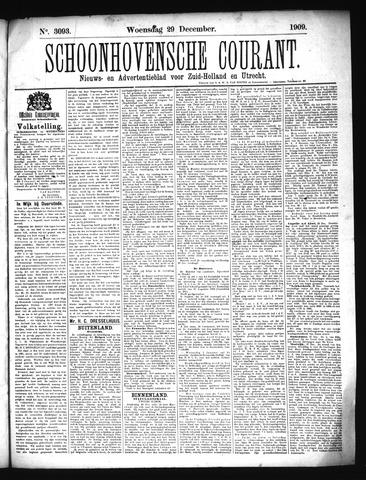 Schoonhovensche Courant 1909-12-29