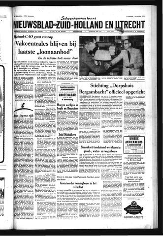 Schoonhovensche Courant 1971-11-03